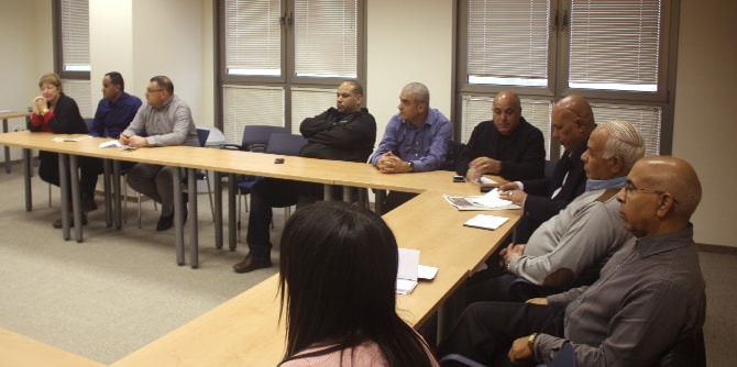 Mandel Negev Study Day for Education Supervisors in the Arab Sector