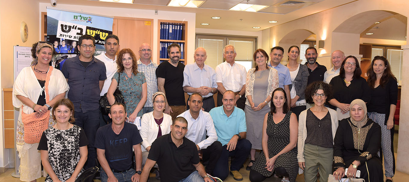 Graduates of the Mandel Center for Leadership in the Negev